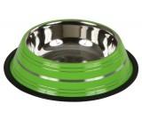 Edelstahlnapf in grün